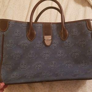 Denim Blue Dooney and Bourke Handbag